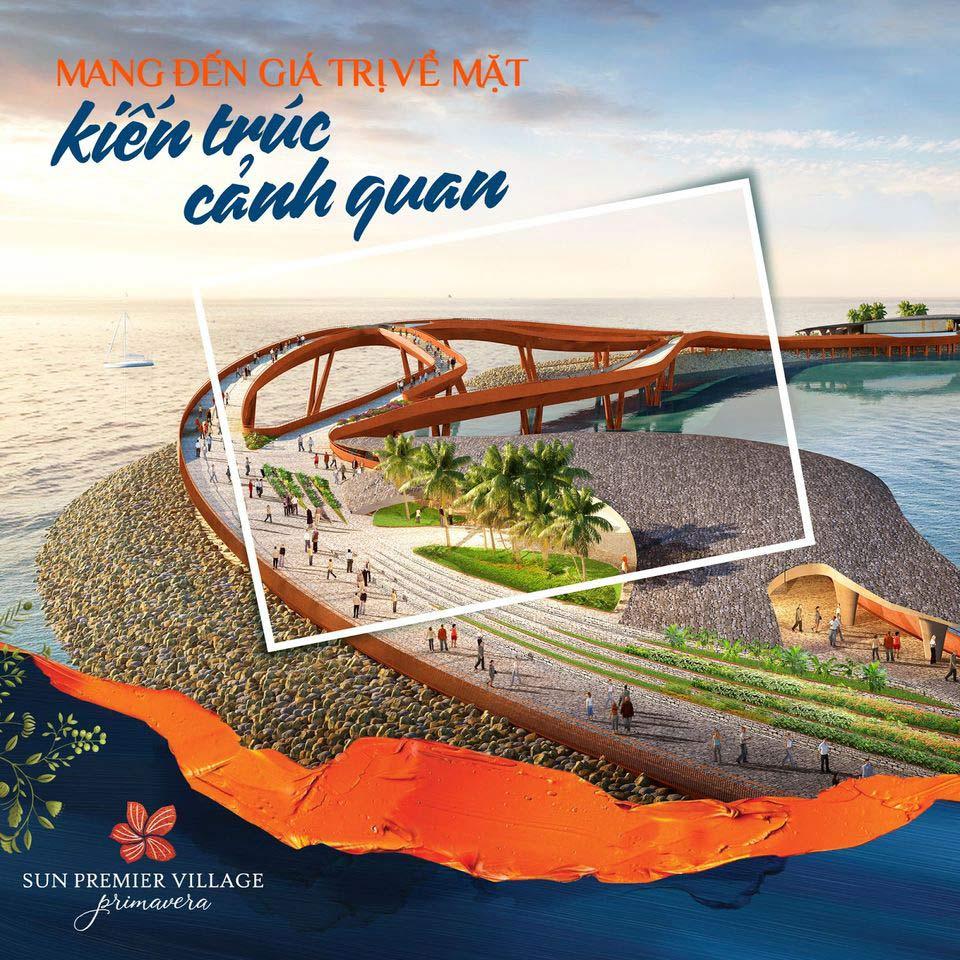 Khi hoàn thành Cầu Hôn sẽ trở thành biểu tượng mới tại Phú Quốc