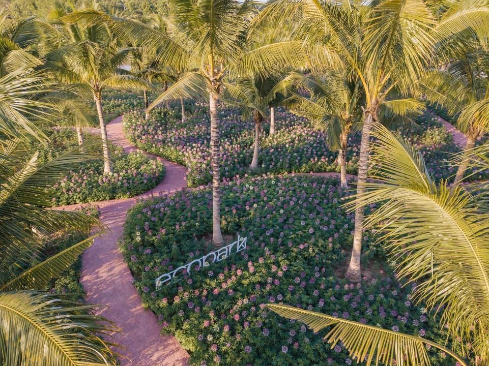 Công viên xanh tại dự án Ecopar Vinh – Ecopark Nghệ An